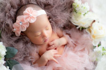 大阪市しおかわ鍼灸接骨治療院の不妊鍼灸でご懐妊の赤ちゃんの画像