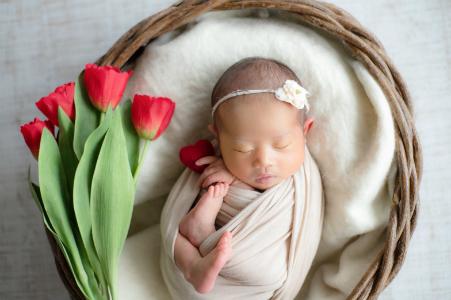 大阪市しおかわ鍼灸整骨院の不妊治療でご懐妊の赤ちゃんの画像