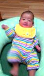 千林大宮しおかわ鍼灸整骨院の不妊治療でご懐妊の赤ちゃんの画像