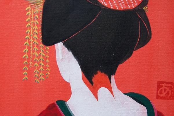盆の窪(13.7×12.2cm)2012年