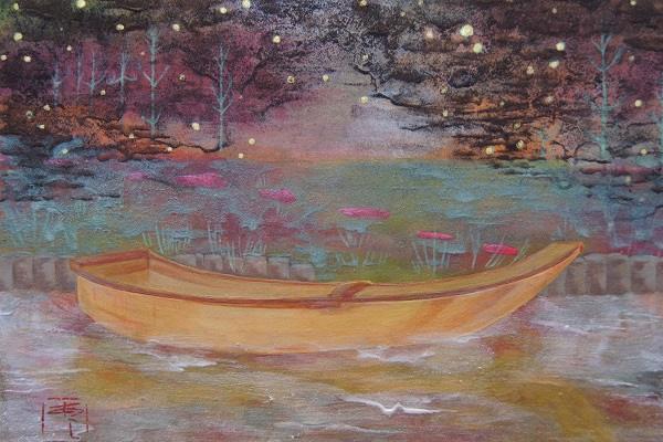 舟(16.0×22.7cm)2014年