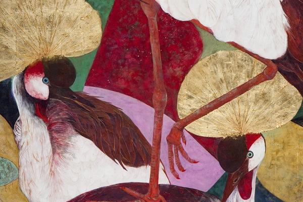 惑わす焔(227.3×181.8cm)2013年